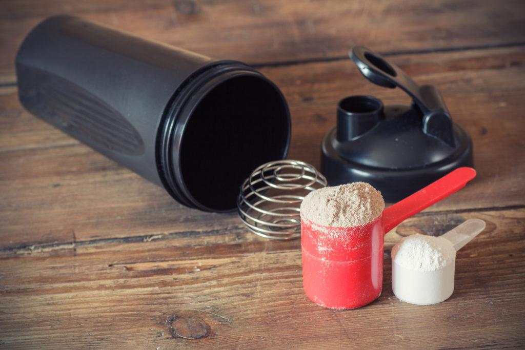 プロテインはダイエットの強い味方